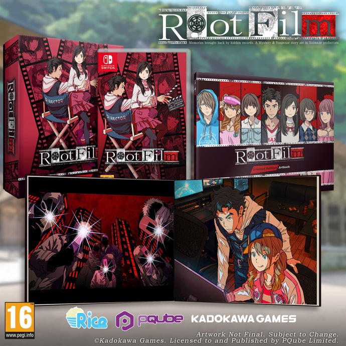 Root Film | Limited Edition (Nintendo Switch) - EXCLUSIVE to Rice