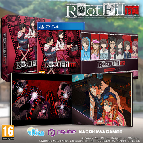 Root Film | Limited Edition (PS4) - EXCLUSIVE to Rice