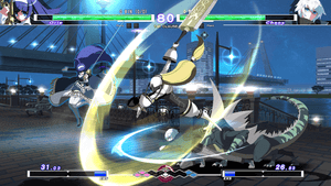 Under Night In-Birth Exe:Late [cl-r] + Limited Edition Keyring (PS4)