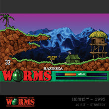 Load image into Gallery viewer, #18 Worms Collection 1 - Evercade Cartridge