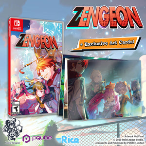 Zengeon Limited Edition (Nintendo Switch) - RICE DIGITAL EXCLUSIVE