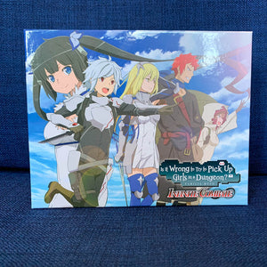 Is It Wrong to Try to Pick Up Girls in a Dungeon? Infinite Combate Collector's Edition (PS4) - RICE DIGITAL EXCLUSIVE