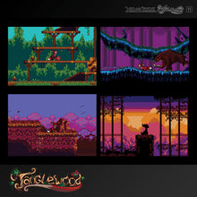 Load image into Gallery viewer, #11 'Xeno Crisis & Tanglewood' Dual Game - Evercade Cartridge