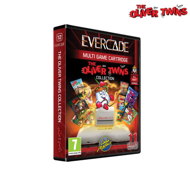 #12 'The Oliver Twins Collection 1' - Evercade Cartridge
