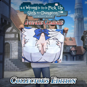 Is It Wrong to Try to Pick Up Girls in a Dungeon? Infinite Combate Collector's Edition (Nintendo Switch) - RICE DIGITAL EXCLUSIVE