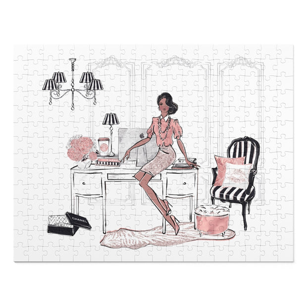 Fancy Fashionista - 252 Piece Puzzle - Iconic Style Inc