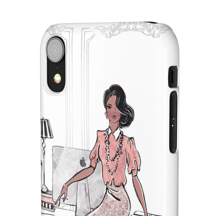Fancy Fashionista Phone Case - Iconic Style Inc
