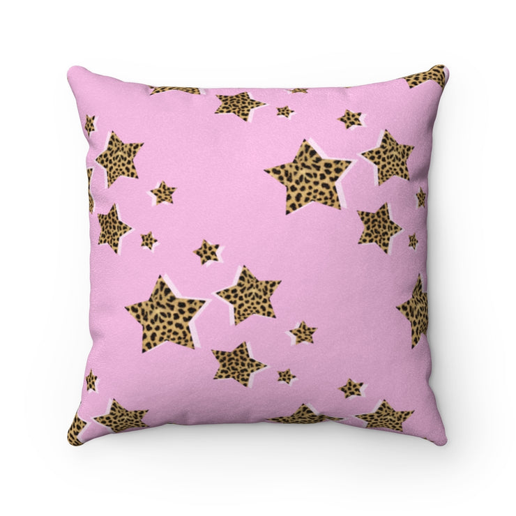 Fierce & Fabulous Faux Suede Pillow - Iconic Style Inc