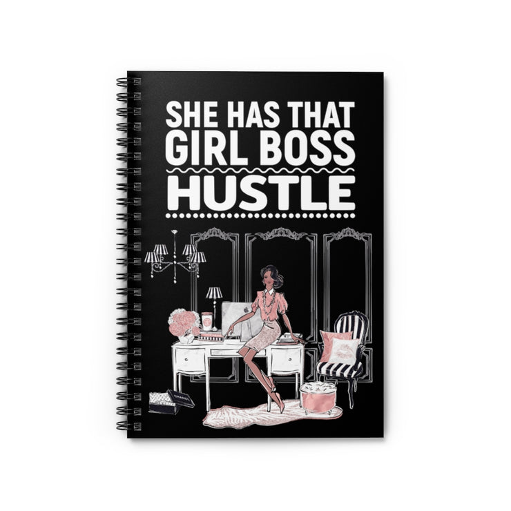 Fancy Fashionista Notebook - Iconic Style Inc