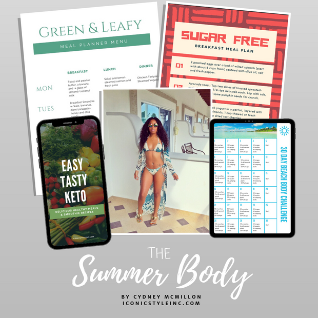 The Summer Body - Fitness & Wellness Guide - Iconic Style Inc.