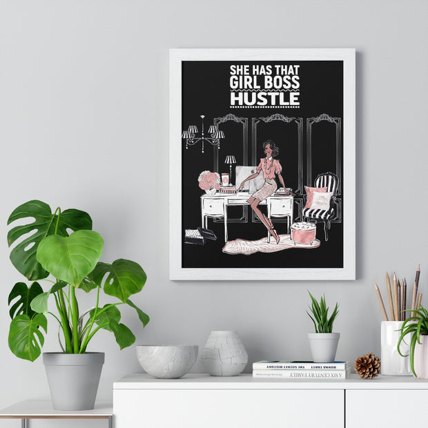 Fancy Fashionista Boss Wall Art - Iconic Style Inc