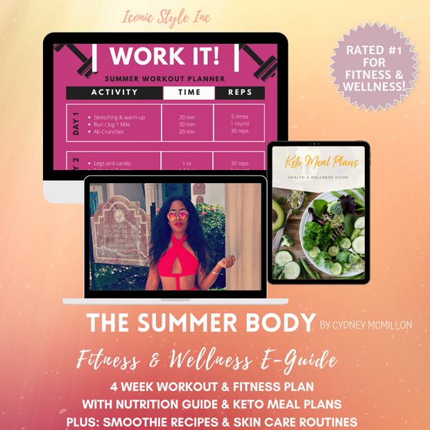 The Summer Body - Fitness & Wellness Guide - Iconic Style Inc
