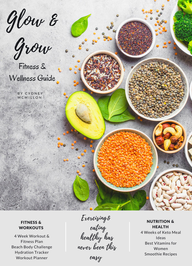 Glow & Grow : Keto Meal & Nutrition E-Guide - Iconic Style Inc.