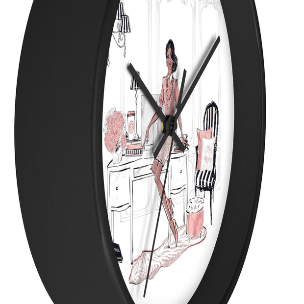 Fancy Fashionista Wall Clock - Iconic Style Inc