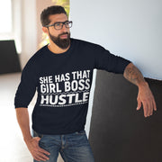 Girl Boss Hustle Sweatshirt - Iconic Style Inc