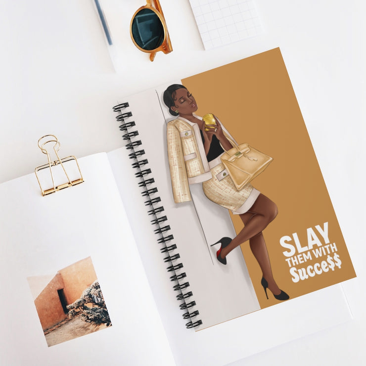 Slay with Succe$$ Notebook - Iconic Style Inc