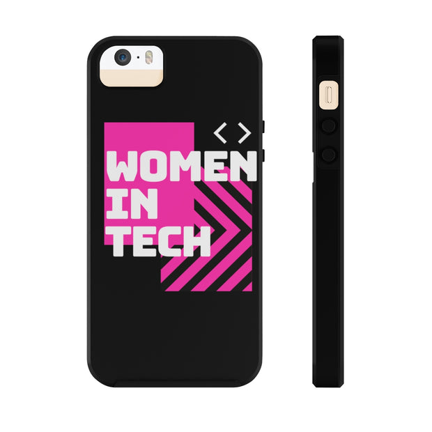Women in Tech Pink Case Mate Phone Case - Iconic Style Inc.