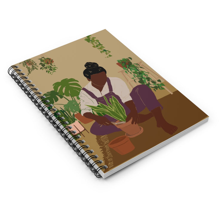 Pretty and Planted Notebook - Iconic Style Inc