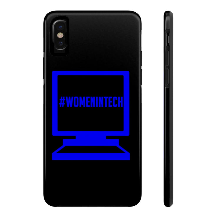 Women in Tech Case Mate Tough Phone Case - Iconic Style Inc.