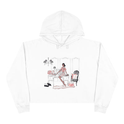 Fancy Fashionista Crop Hoodie - Iconic Style Inc