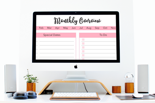The Productivity Planner - Iconic Style Inc.