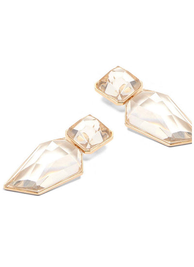 Crystal Clear Statement Earrings - Iconic Style Inc.
