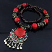 Ready for Coachella Bohemian Beaded Necklace - Iconic Style Inc
