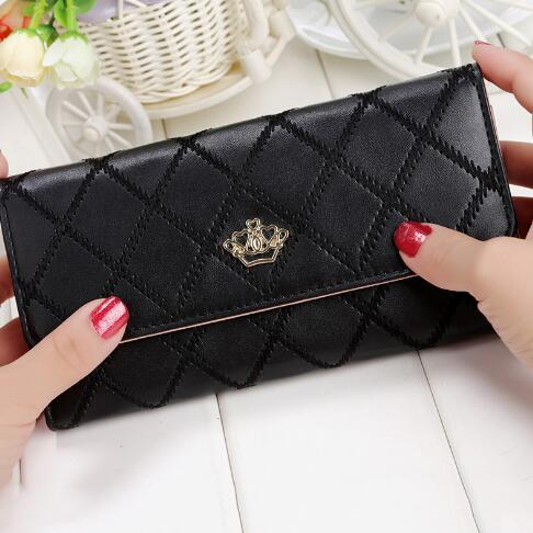 Crown Me Leather Wallet - Iconic Style Inc
