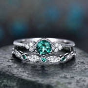 Birthstone Gem Ring - Iconic Style Inc.