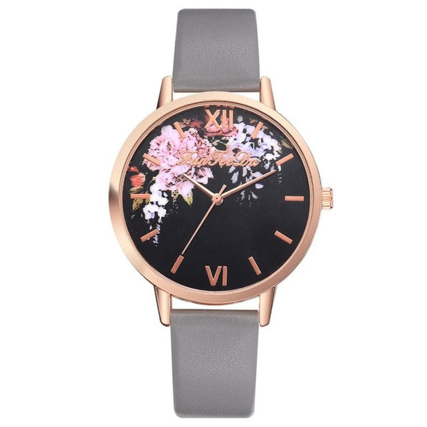 Florals are In Luxury Watch - Iconic Style Inc.