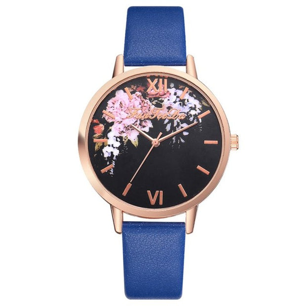 Florals are In Luxury Watch - Iconic Style Inc