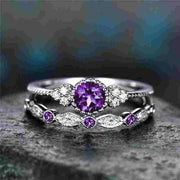 Birthstone Gem Ring - Iconic Style Inc