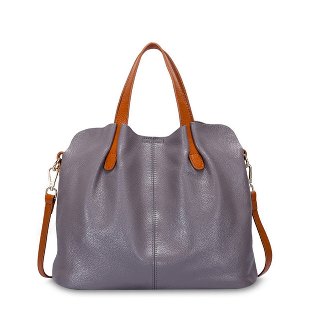 On the Go Leather Women's Tote - Iconic Style Inc