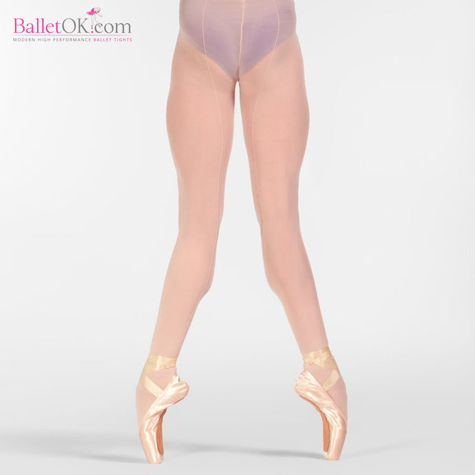 Zarely Z2 PERFORM! PROFESSIONAL PERFORMANCE BALLET TIGHTS WITH BACK SEAM