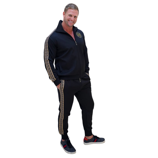 SJ GlitterRibbon Tracksuit Men