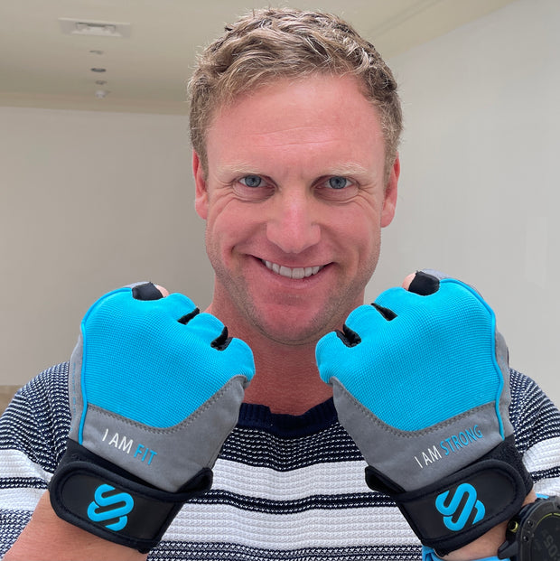 "SJ Premium ""I AM"" Lifting/cycling gloves"