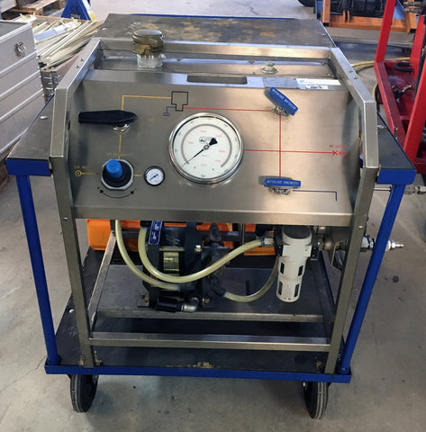 Rental Pressure Unit 1380 Bar, Haskel ASF-150