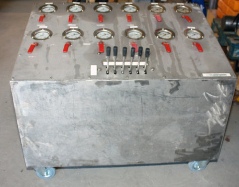 Rental Hydraulic Function Panel
