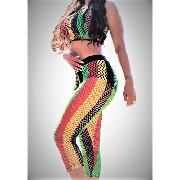 Jamaica Vibes Crochet Two Piece