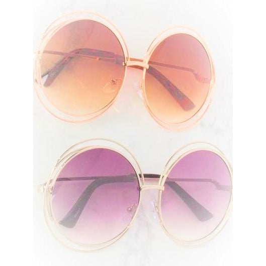 Big Circle Women Sunglasses