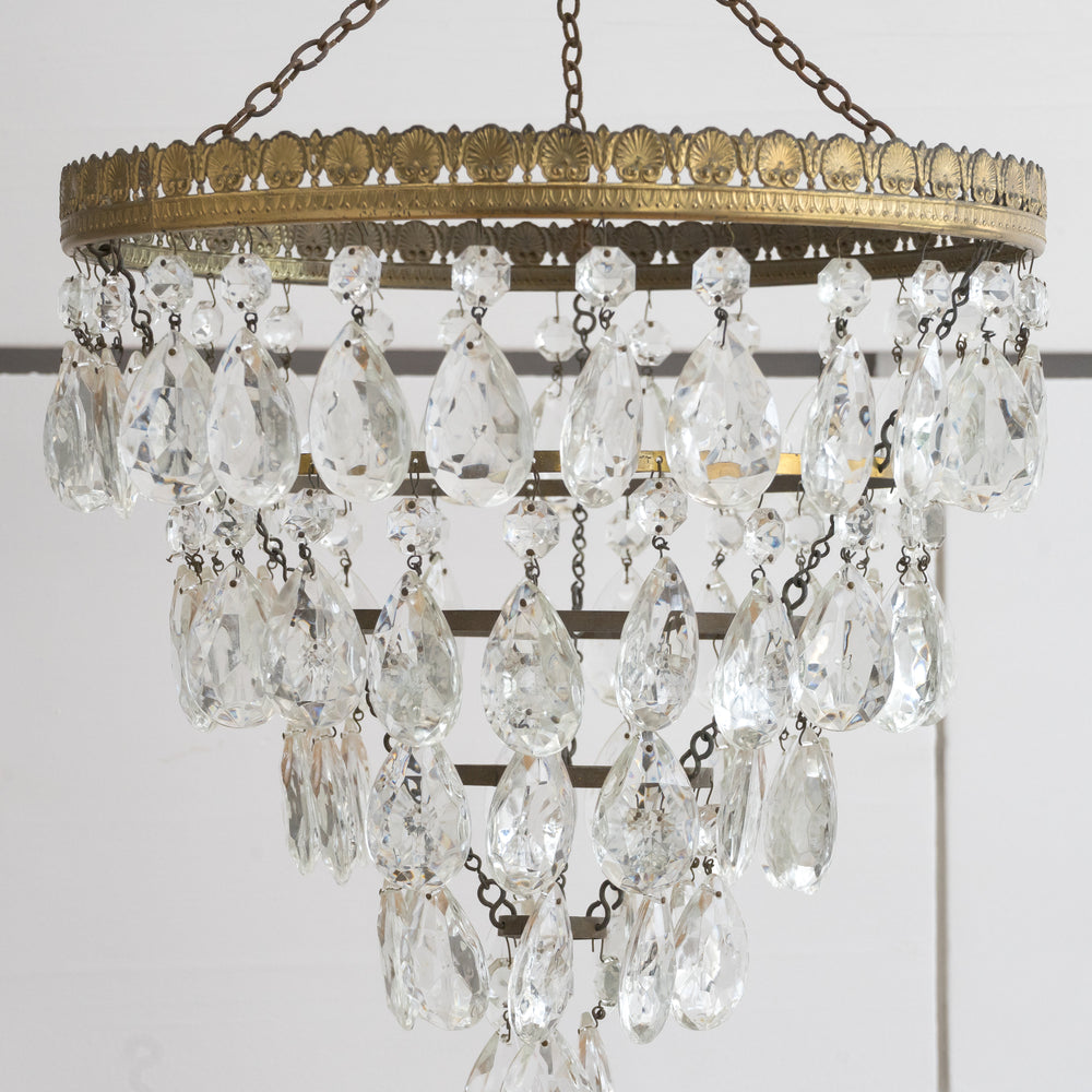 Load image into Gallery viewer, VINTAGE 5 TIER CHANDELIER