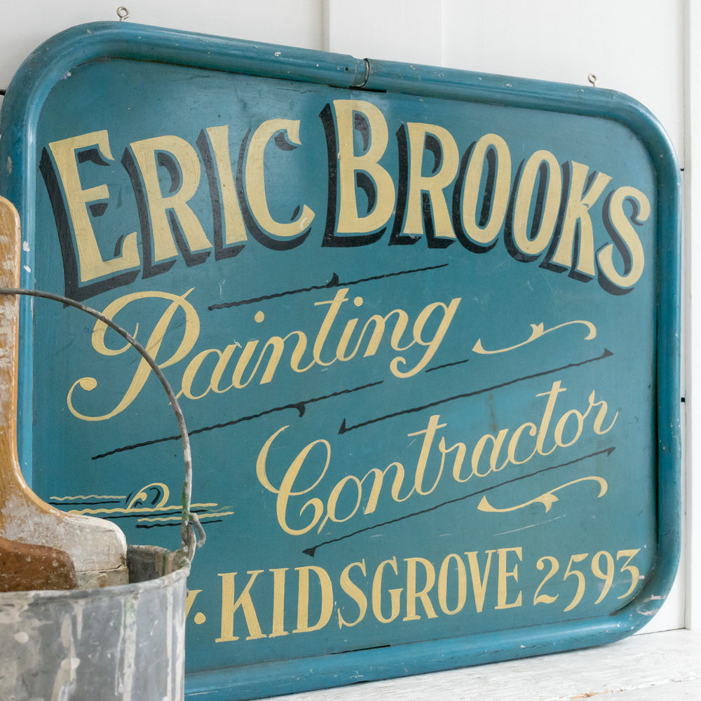 HAND PAINTED VINTAGE SIGN
