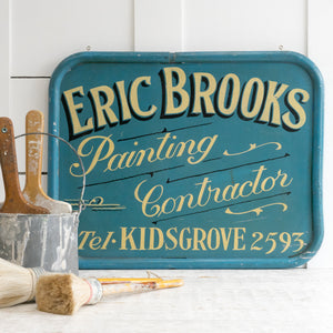 Load image into Gallery viewer, HAND PAINTED VINTAGE SIGN