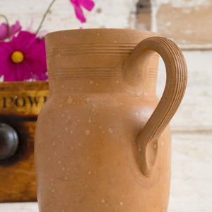 FRENCH POTTERY JUG
