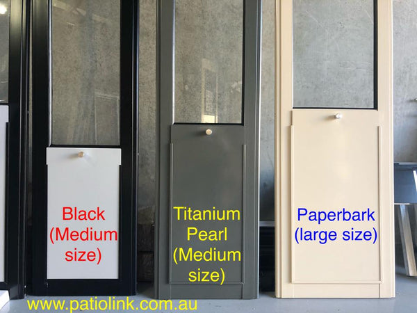 Custom Colour Pet Door Insert