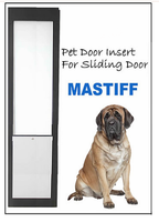 9. Mastiff Pet Door Insert for a Sliding Door