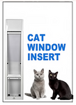 .Cat Window Insert