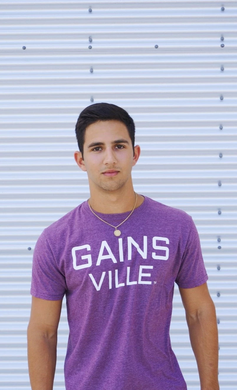 GAINS VILLE Shirt - Maroon