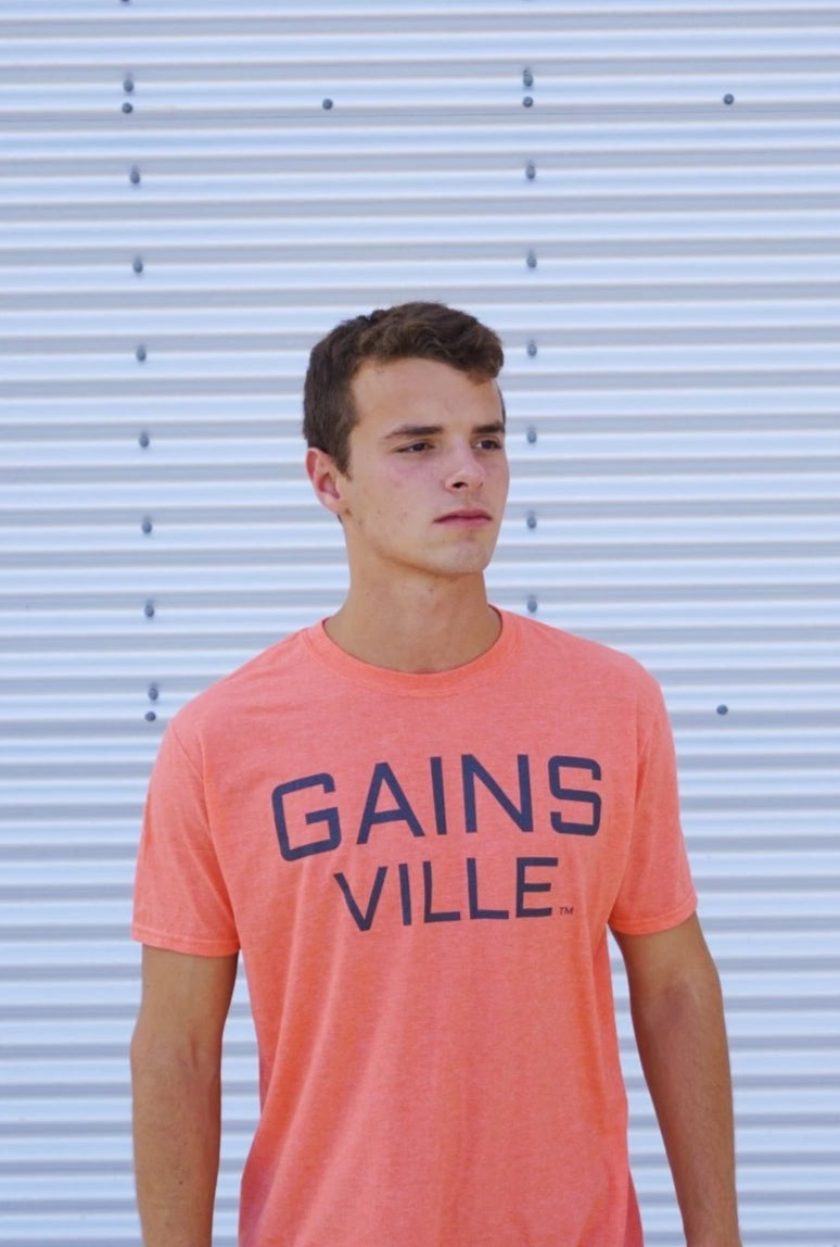 GAINS VILLE Shirt - Orange