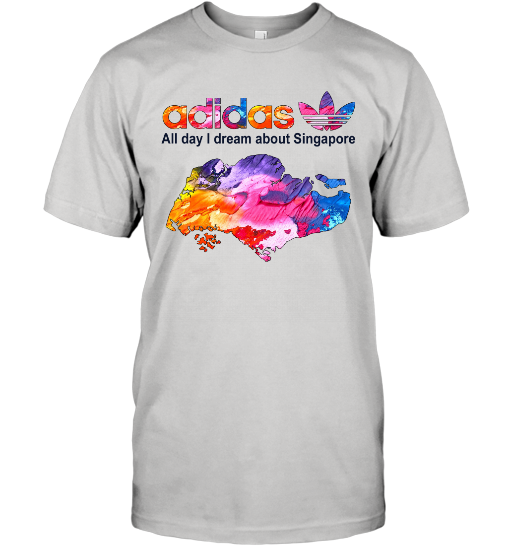 Country Adidas All day I dream about Singapore T-Shirt
